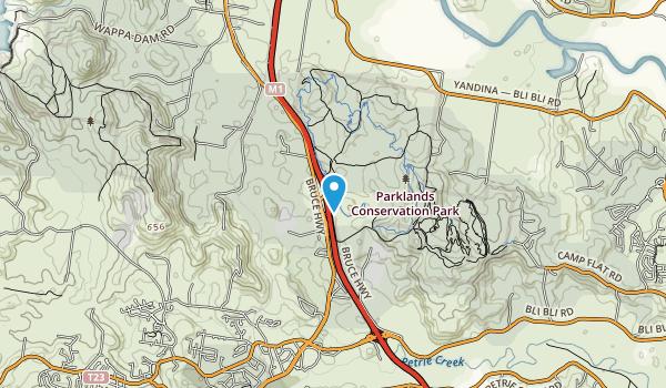 Parklands Conservation Area Map