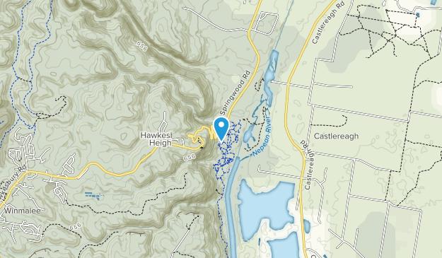 Yellomundee Regional Park Map