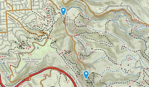 Cleland Conservation Park Map