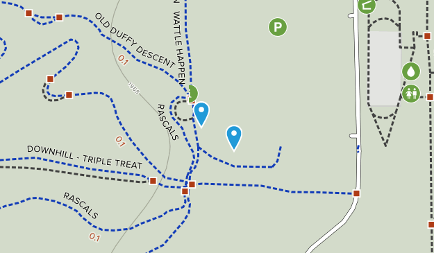 Stromlo Forest Park Map