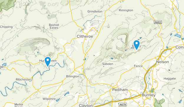 Forest of Bowland Map