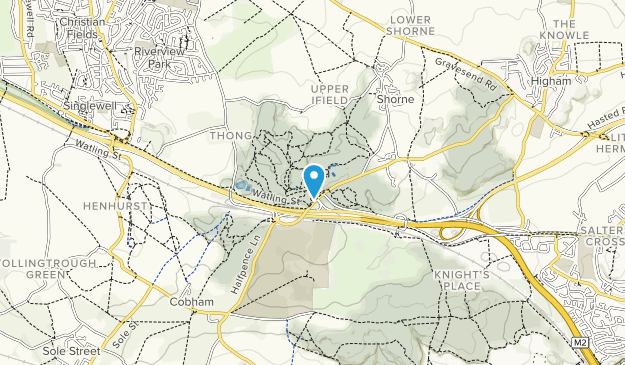 Shorne Woods Country Park Map