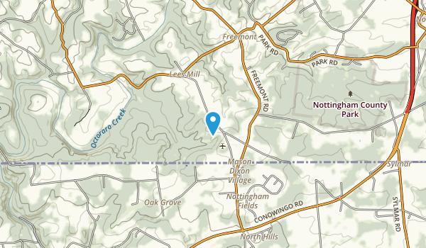 Goat Hill Wild Plant Sanctuary Map