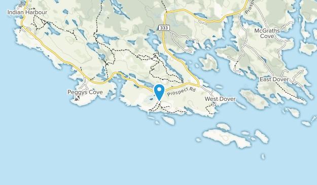 West Dover Provincial Park Map