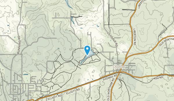 Leschenaultia Conservation Park Map