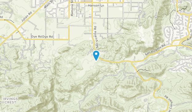 Barnett Ranch Preserve Map