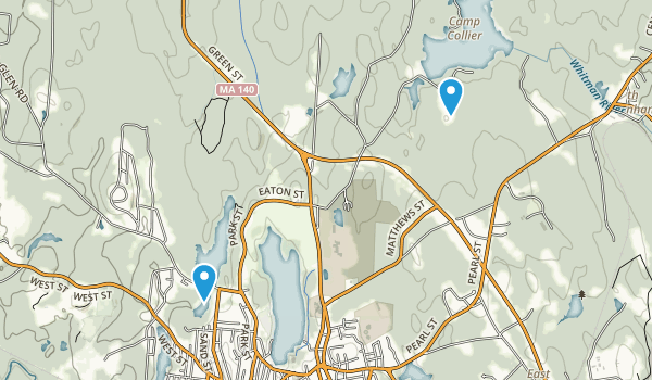 Gardner City Forest Map