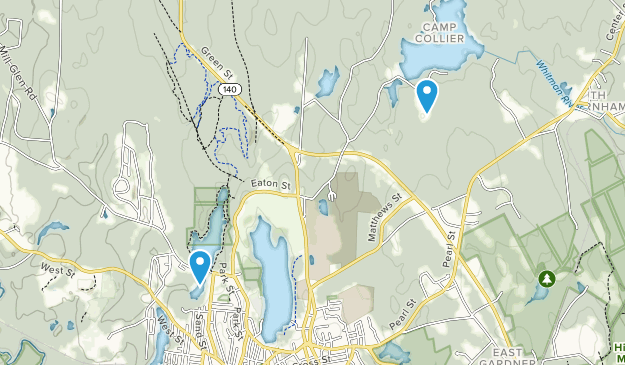 Gardner City Forest Map