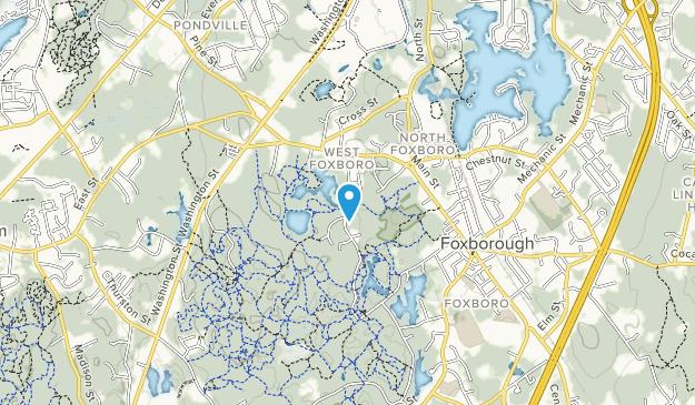 Cocasset Brook Greenbelt Map