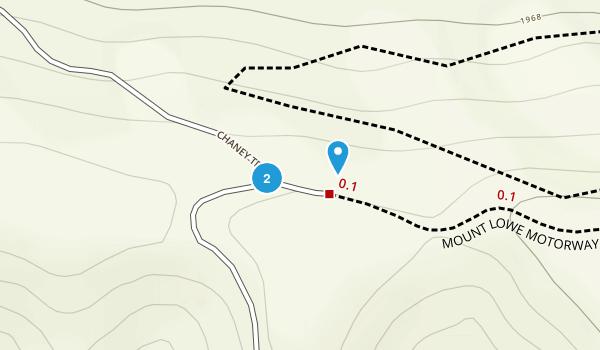 Millard Canyon Park Map