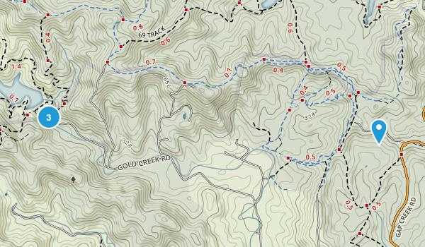 Gold Creek Reservoir Map