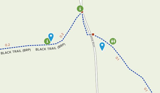 Black Run Nature Preserve  Map