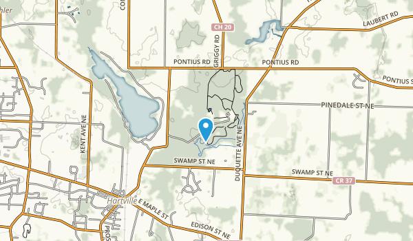 Quail Hollow Park Map