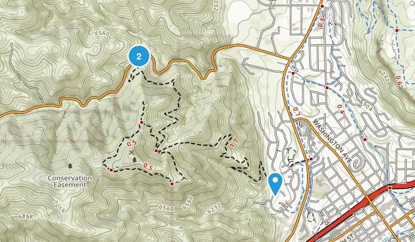 Mount Galbraith Park Map