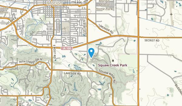 Squaw Creek Park Map