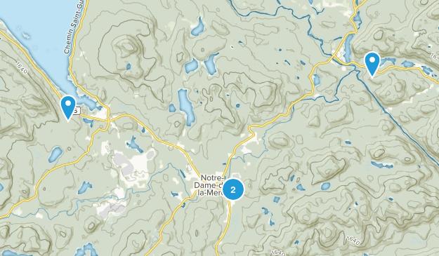 Parc Regional de la Foret  Map