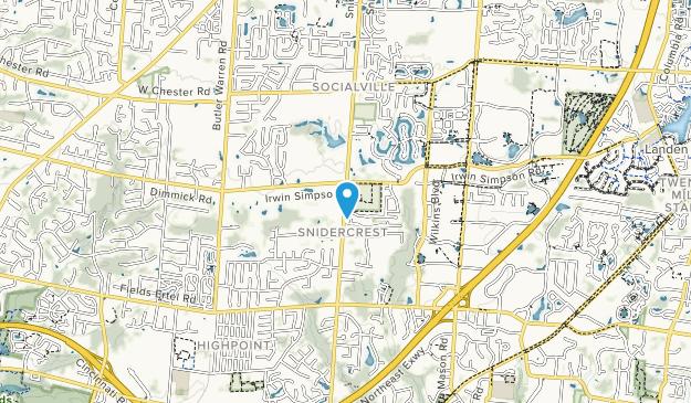 Cottell Park Map