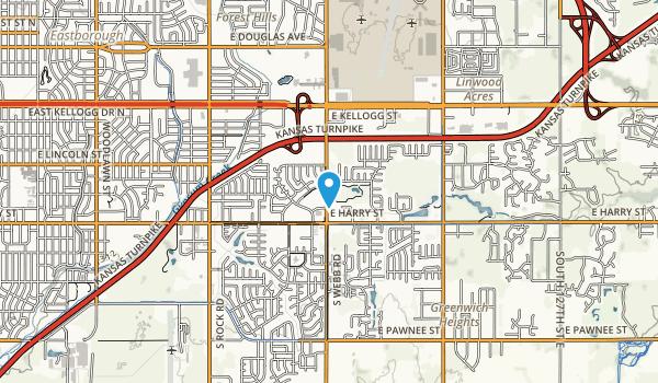 W B Harrison Park Map