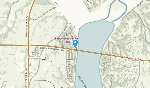 Fancy Creek State Park Map
