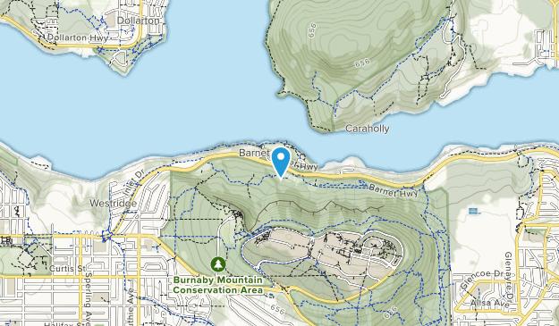 Barnet Marine Park Map