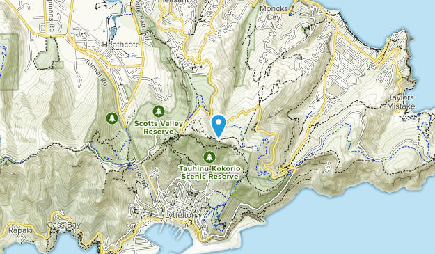 Scarborough Hill Reserve Map