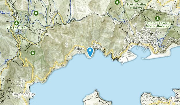Corsair Bay Reserve Map