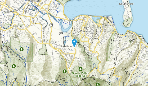 Scotts Valley Reserve Map