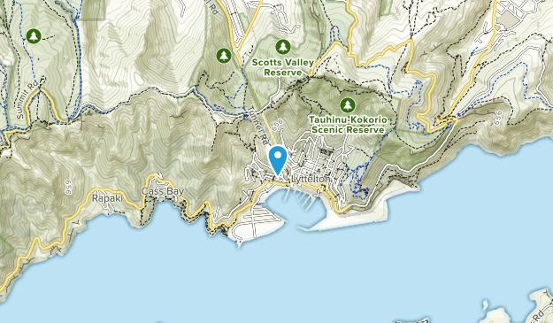 Castle Rock Reserve Map