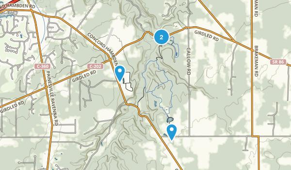 Girdled Road Reservation Map
