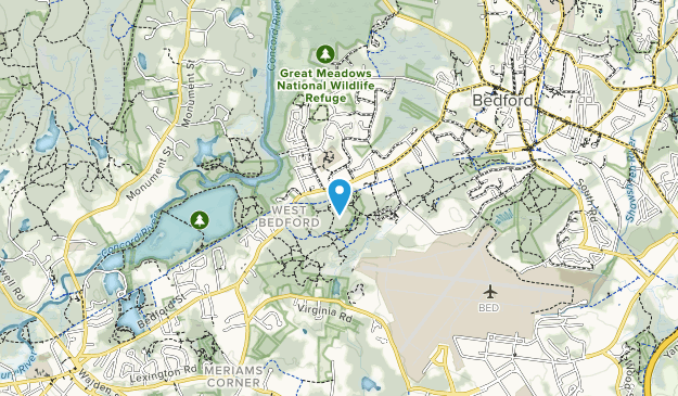 Bedford Conservation Area Map