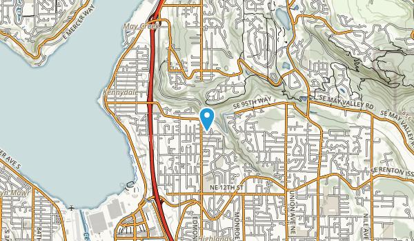 Honey Creek Open Space Map