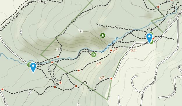 Lesmurdie Falls National Park Map