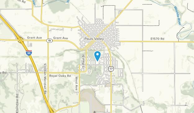Washita Valley Nature Park Map