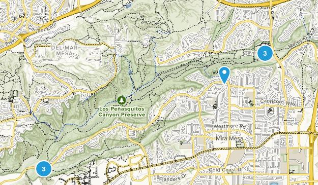 Los Penasquitos Canyon Preserve Map