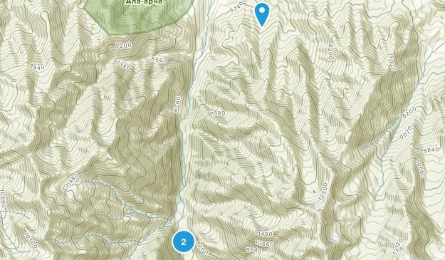 Ala-Archa National Park Map