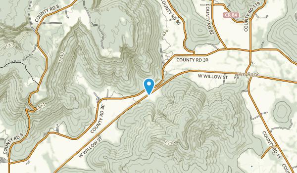Stephens Gap Callahan Cave Preserve Map