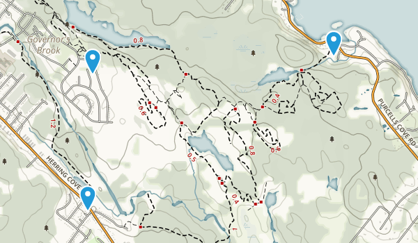 Purcell's Cove Backlands  Map
