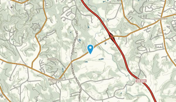 Jacob Fork Park Map
