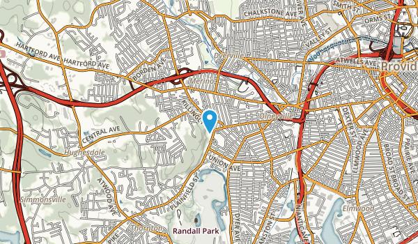 Neutaconkanut Hill Park Loop Map