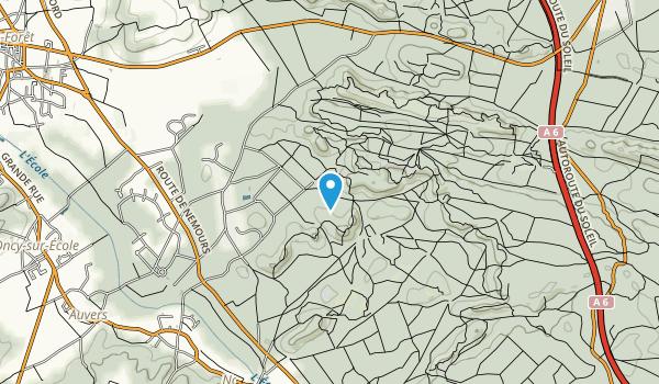 Forêt Domaniale des Trois Pignons Map