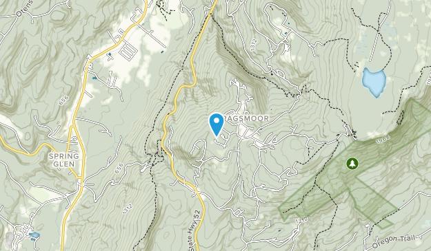 Bear Hill Preserve Map