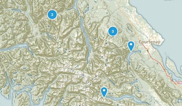 Strathcona Provincial Park Map