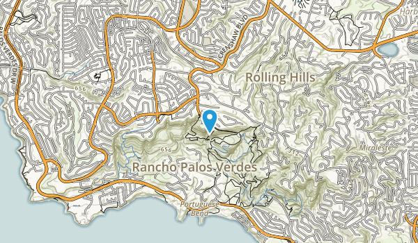 Palo Verdes Nature Preserve Map