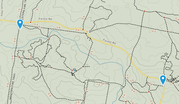 Nowra State Forest Map
