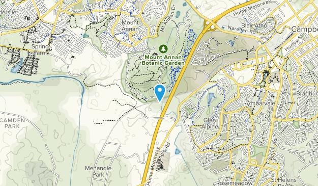 Mount Annan Botanic Garden Map