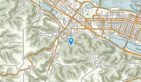 Saint Mary's University Ski Trails Map
