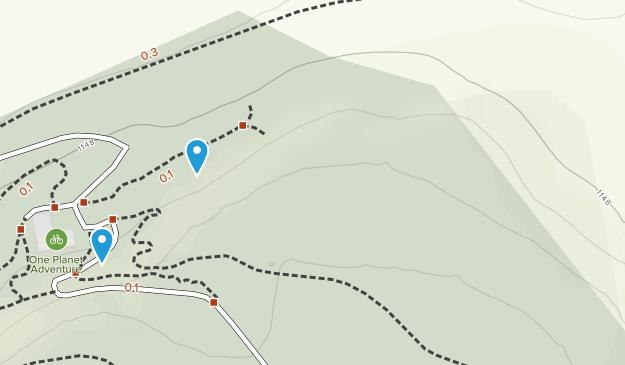 Llandegla Forest Map