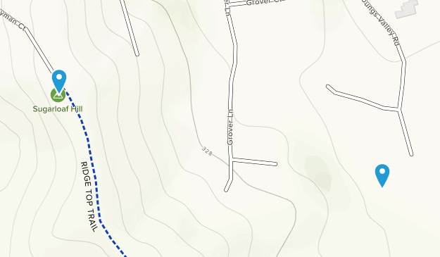 Sugarloaf Open Space Map