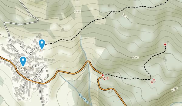 Alpi Carniche Map