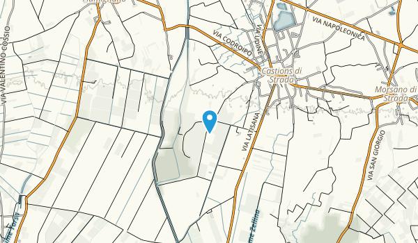 Risorgive Friuli Map
